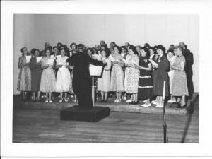 Concours in het Kurhaus te Scheveningen; 21/22 juli 1956 1e Prijs met lof en Wisselbeker!