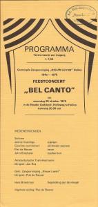 1975 Programmaboekje