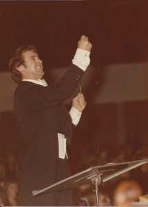 1976 Piet de Reuver in actie bij Weihnachtsoratorium