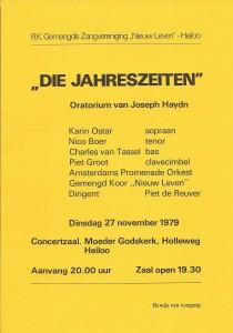1979 Programmaboekje