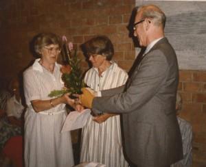 1985 A.Lases 25 jaar lid