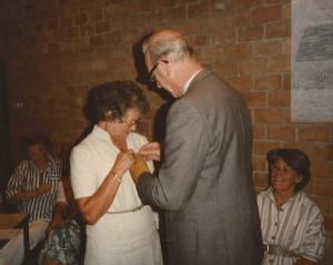 1985 Ans Driessen 40 jaar lid