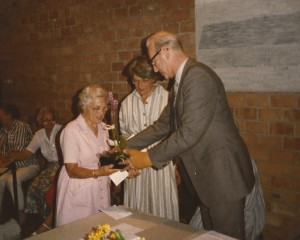 1985 Jo van Tongeren 40 jaar lid