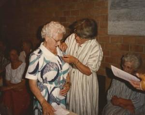 1985 Zuster Rozing 40 jaar lid