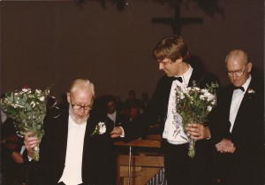 1988 oa Requiem van Mozart[3], Piet Groot, Marcel Joosen en Matthieu Driessen