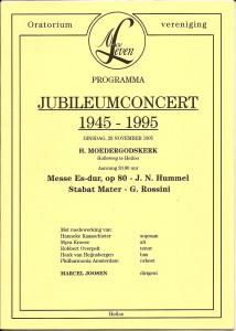 1995 Programmaboekje