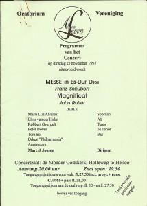 06-1997 Programmaboekje