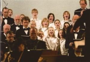 2008 Matthäus Passion, het kinderkoor