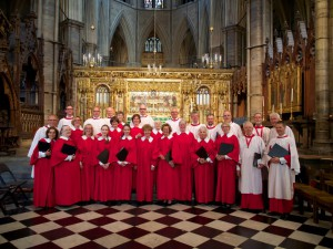2014.4 Martinus Cantorij in Westminster Abbey