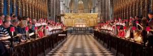2014.5 Londen, koorbanken Westminster Abbey
