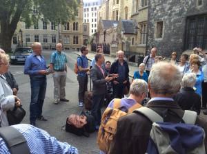 2014.7 Londen, voor Westminster Abbey na de vesperdienst