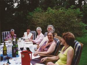 27-2005 Bij Gejo in de tuin